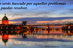 You will only be searched for those problems that you can solve