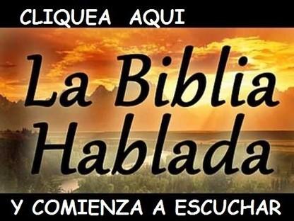 Escucha la biblia