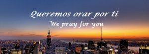 Pedido de Oracion- Oraciones en acuerdo