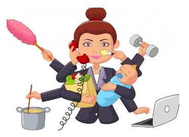 Multitasking, Te gusta hacer muchas cosas a la vez